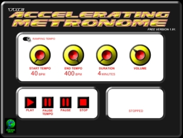 The Accelerating Metronome FREE